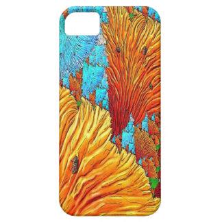 Korallenrote Illustration iPhone 5 Schutzhülle