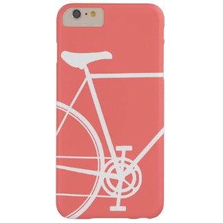 Korallenrotes abstraktes Fahrrad Case-Mate iPhone