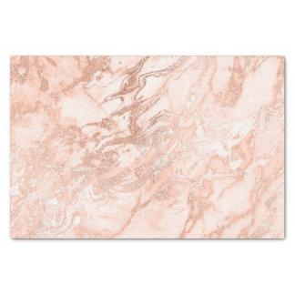 Korallenrotes Pfirsich-Rosen-Gold erröten Seidenpapier