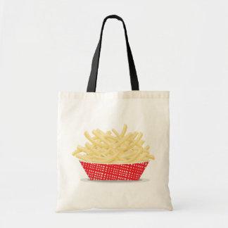 Korb der Pommes-FritesTaschen-Tasche Tragetasche