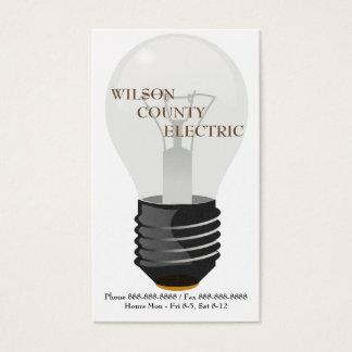 Korb-Visitenkarte Electric Electrician Company Visitenkarte