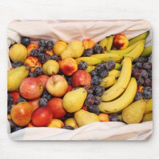 Korb voll der Früchte Mousepad