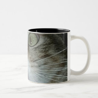 Kordsamt-Tasse Zweifarbige Tasse