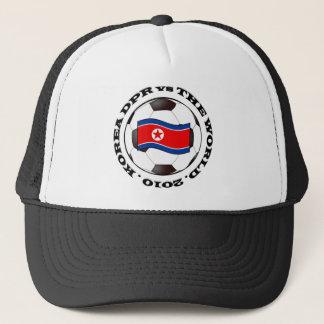 Korea DPR gegen die Welt Truckerkappe