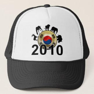 Korea-Republik-Welt 2010 Truckerkappe