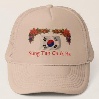 Korea-Weihnachten Truckerkappe