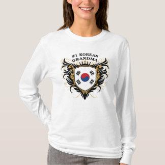 Koreanische Großmutter der Nr.-eine T-Shirt
