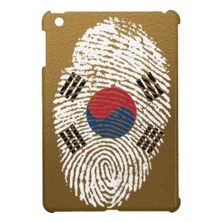 Koreanische Touchfingerabdruckflagge iPad Mini Schale