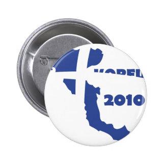 korfu 2010 runder button 5,1 cm