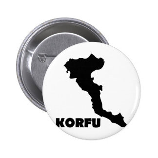 korfu Korfu-Griecheinsel Anstecknadel