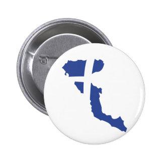 korfu Korfu-Griecheinsel Runder Button 5,1 Cm