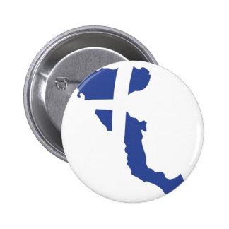 korfu Korfu-Griecheinsel Runder Button 5,7 Cm