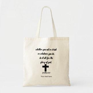 Korinther-10:31 Tragetasche