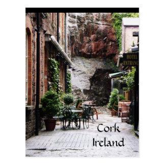 Korken-Irland-Postkarte Postkarte