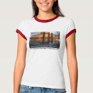 Korn-Aufzugs-T - Shirt-Büffel NY T-Shirt
