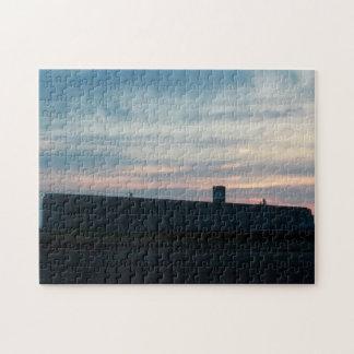 Korn-Fabrik an Sun-Set Puzzle