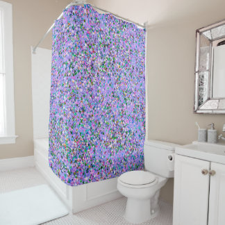Korn-Glitzer-Mode malendes Mehrfarben#6 Duschvorhang
