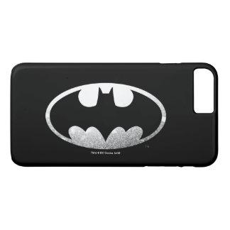 Körniges Logo 2 Batman-Symbol-| iPhone 8 Plus/7 Plus Hülle