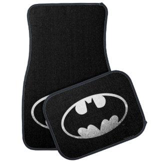Körniges Logo Batman-Symbol-| Automatte