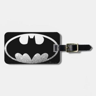 Körniges Logo Batman-Symbol-| Gepäckanhänger