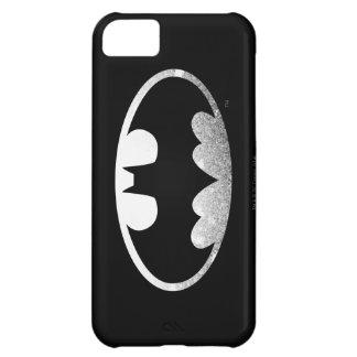 Körniges Logo Batman-Symbol-| iPhone 5C Hülle