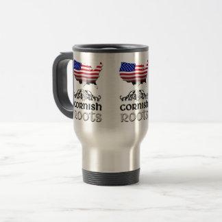 Kornische amerikanische Herkunft wurzelt Tasse