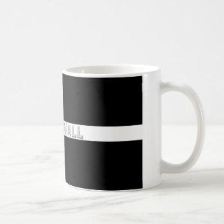 Kornische Flagge Kaffeetasse