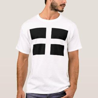 Kornischen Heiliges Pirans Flagge - Flagge von T-Shirt