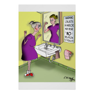 Körper-Bild-Cartoon 9419 Poster