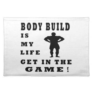 Körper-Gestalt ist mein Leben Tischset