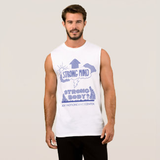 Körper-Muskel-Behälter der Männer starker Ärmelloses Shirt