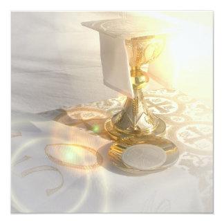 Körper von Christus-Einladung Quadratische 13,3 Cm Einladungskarte