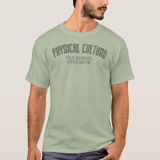 Körperliche Kultur - alte Schulstärke T-Shirt