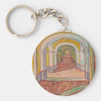 Korridor in St- Paulkrankenhaus Vincent van Gogh Schlüsselanhänger