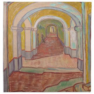 Korridor in St- Paulkrankenhaus Vincent van Gogh Serviette