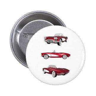 Korvette 1961 C1: Runder Button 5,7 Cm