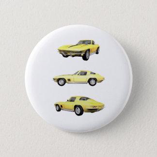 Korvette 1967: runder button 5,1 cm