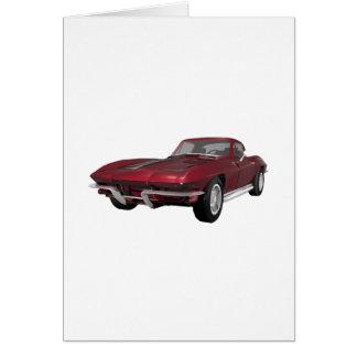 Korvette 1967: Sport-Auto: Süßigkeit Apple Karte