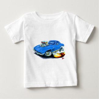 Korvette-Blau-Auto 1965 Baby T-shirt