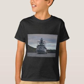 Korvette Braunschweig verankert in Plymouth T-Shirt