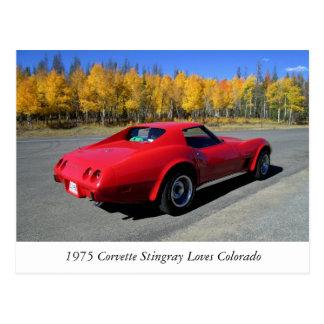 Korvette-Liebe-Colorado-Postkarte 1975 Postkarte