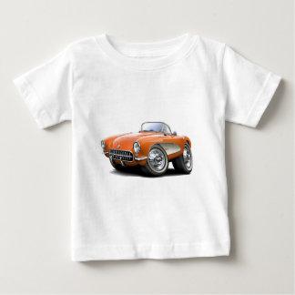 Korvette-Orangen-Auto 1956-57 Baby T-shirt