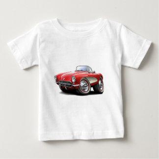 Korvette-Rot-Auto 1956-57 Baby T-shirt