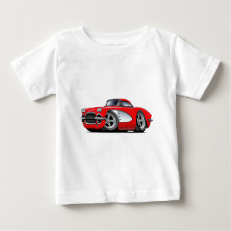 Korvette-Rot-Auto 1961 Baby T-shirt