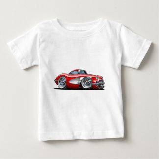 Korvette-Rot-Auto Baby T-shirt