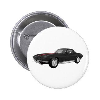 Korvette-Sport-Auto 1967: Schwarzes Ende: Buttons
