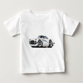 Korvette-Weiß-Auto 1961 Baby T-shirt