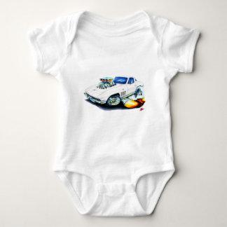 Korvette-Weiß-Auto 1965 Baby Strampler