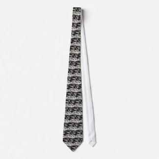 Korvettestingray-Motor-Krawatte 1975 Personalisierte Krawatte