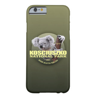 Kosciuszko NP (Koala) GEWICHT Barely There iPhone 6 Hülle